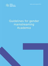 Guidelines for gender mainstreaming Academia