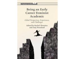 omslag från boken early career feminist