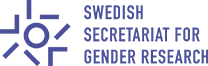 Swedish Secretariat for Gender Research logotype